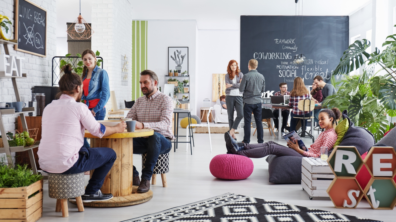 Creative Offices: Building Communities, Boosting Productivity - AIR CRE