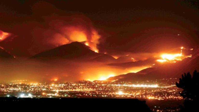 The Economic Impact of the California Wildfires