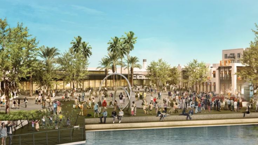 Renderings courtesy of Hollywood Park