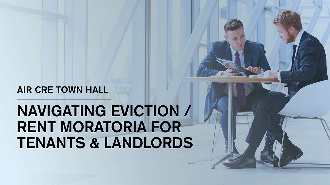 Town Hall on Eviction/Rent Moratoria