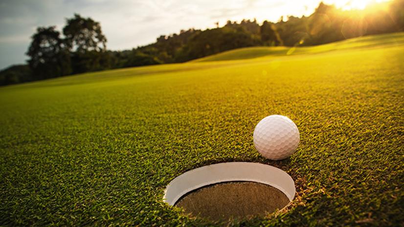 AIR CRE 37th Annual Golf Classic_golf ball sunset.jpeg